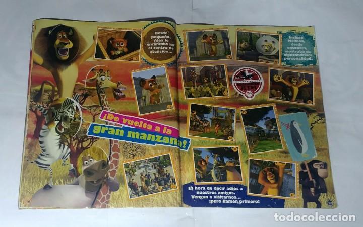 Coleccionismo Álbum: Album Madagascar 2 - Editorial Salo 2008 - 100% Completo - Foto 3 - 165126602