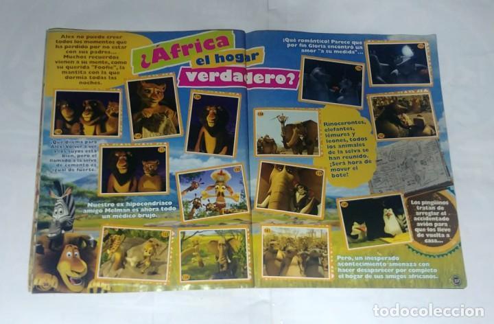 Coleccionismo Álbum: Album Madagascar 2 - Editorial Salo 2008 - 100% Completo - Foto 4 - 165126602