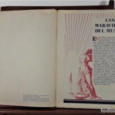 Coleccionismo Álbum: ÁLBUM DE CROMOS. LAS MARAVILLAS DEL MUNDO. COMPLETO. EDIT. NESTLÉ. 1932.. Lote 165178802