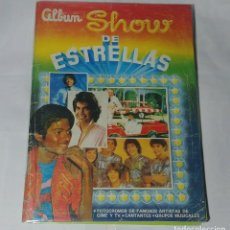 Coleccionismo Álbum: ALBUM SHOW DE ESTRELLAS - NAVARRETE 1985 - 95% COMPLETO. Lote 165240742