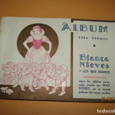 Collectionnisme Album: ANTIGUO ÁLBUM DE CROMOS BLANCA NIEVES Y LOS 7 ENANITOS DE CROMOS FHER. Lote 165260218