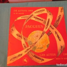 Coleccionismo Álbum: LES AUTOS 1964 CHOCOLATES JACQUES. Lote 165287574