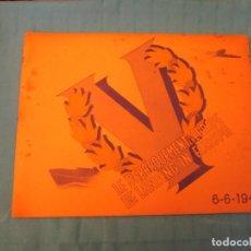 Coleccionismo Álbum: LE DEBARQUEMENT EN EUROPE 1944 TOFFE TREFIN. Lote 165289750
