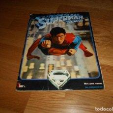 Coleccionismo Álbum: SUPERMAN II. ALBUM DE CROMOS COMPLETO. EDICIONES FHER 1980. BUEN ESTADO.. Lote 165314662