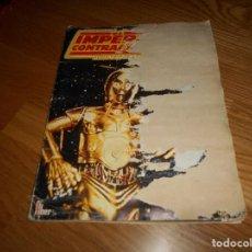 Coleccionismo Álbum: ÁLBUM EL IMPERIO CONTRAATACA - COMPLETO - EDITORIAL FHER 1980 - LA GUERRA DE LAS GALAXIAS -VER FOTOS. Lote 165325230