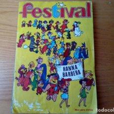 Coleccionismo Álbum: FESTIVAL HANNA BARBERA FALTAN 6 CROMOS. Lote 165353846