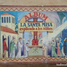 Coleccionismo Álbum: ALBÚM LA SANTA MISA EXPLICADA A LOS NIÑOS (COMPLETO) - ED. VILAMALA. Lote 165435914