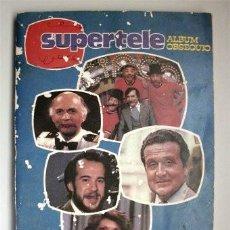 Coleccionismo Álbum: SUPERTELE. ÁLBUM OBSEQUIO. GENTE DE LA TELE. Lote 165515106