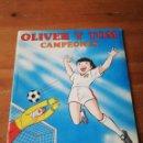 Coleccionismo Álbum: ÁLBUM DE CROMOS. OLIVER Y TOM. CAMPEONES. COMPLETO.. Lote 165595562