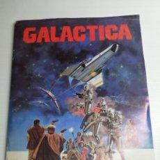 Coleccionismo Álbum: ALBUM GALACTICA COMPLETO 243 CROMOS.. AÑO 1979... Lote 165681628