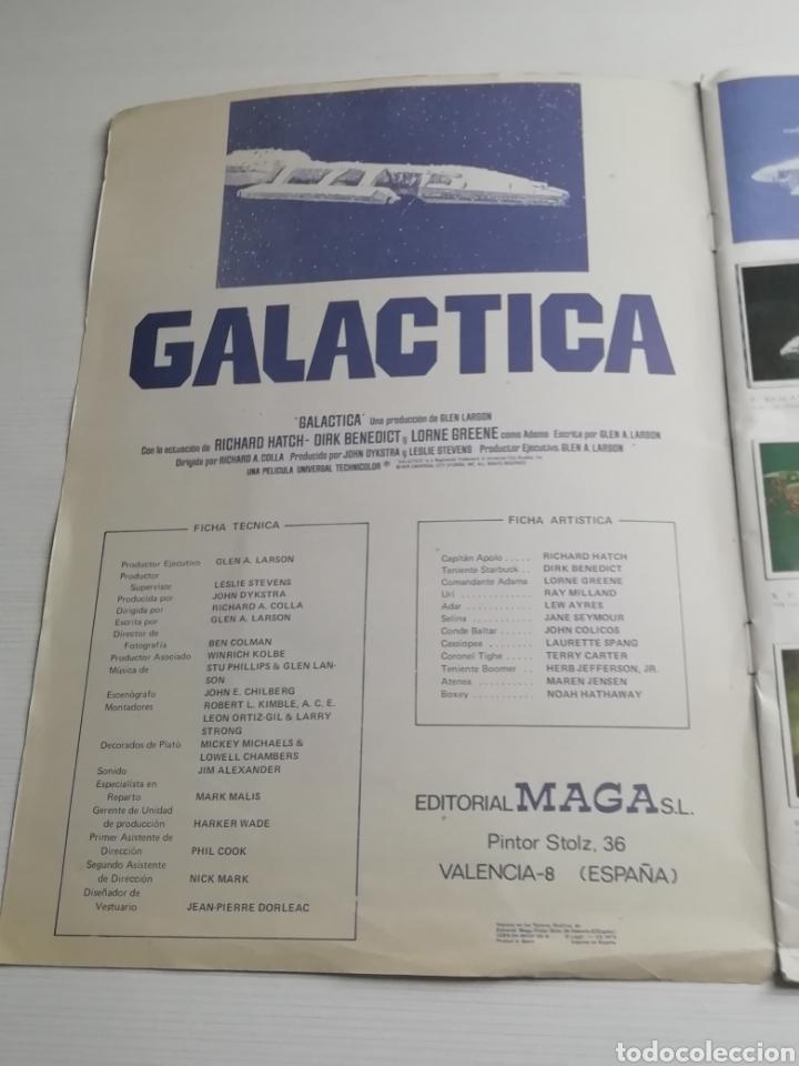Coleccionismo Álbum: Album GALACTICA Completo 243 cromos.. Año 1979.. - Foto 2 - 165681628