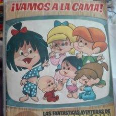 Coleccionismo Álbum: VAMOS ALA CAMA FAMILIA TELERÍN EDITORIAL BRUGUERA COMPLETO. Lote 165783396