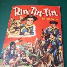 Coleccionismo Álbum: RIN TIN TIN COMPLETO. Lote 166047214