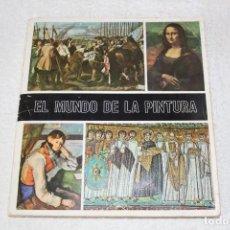 Coleccionismo Álbum: ALBUM DE CROMOS: EL MUNDO DE LA PINTURA - DIFUSORA DE CULTURA 1969. Lote 166323790