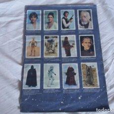 Coleccionismo Álbum: ALBUM COMPLETO. LA GUERRA DE LAS GALAXIAS. EDICIONES PACOSA. 1977. SIN TAPAS. STAR WARS. Lote 166532882