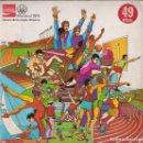 Coleccionismo Álbum: ALBUM MONTREAL 76 1976 HISTORIA DE LOS JUEGOS OLÍMPICOS COCA COLA COMPLETO SIN VISOR. Lote 166574302