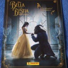 Coleccionismo Álbum: LA BELLA Y LA BESTIA - PANINI ¡COLECCIÓN COMPLETA E IMPECABLE!. Lote 166787122