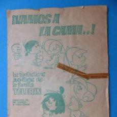 Coleccionismo Álbum: ALBUM CROMOS VAMOS A LA CAMA, LA FAMILIA TELERIN - ED. BRUGUERA, AÑO 1965 - COMPLETO. Lote 166884580