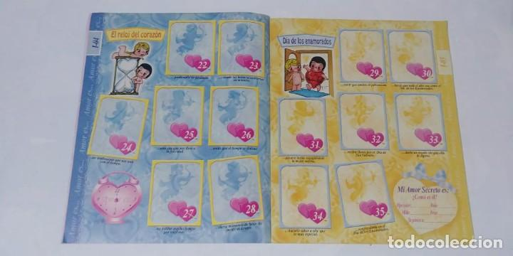 Coleccionismo Álbum: Album Amor Es.. Editorial Navarrete 1998 - 100% Completo - Foto 2 - 166915596