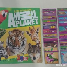 Coleccionismo Álbum: ALBUM ANIMAL PLANET 2013 - EDITORIAL NAVARRETE - 100% COMPLETO. Lote 166916036