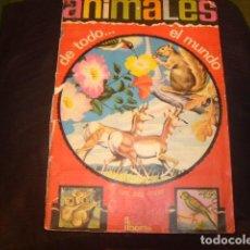 Coleccionismo Álbum: ALBUM ANIMALES DE TODO EL MUNDO FHER COMPLETO. Lote 166972940