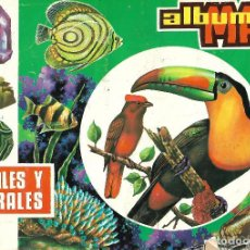 Coleccionismo Álbum: ANIMALES Y MINERALES - COMPLETO. Lote 167451444