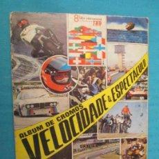Coleccionismo Álbum: VELOCIDADE & ESPECTACULO. Lote 167540396
