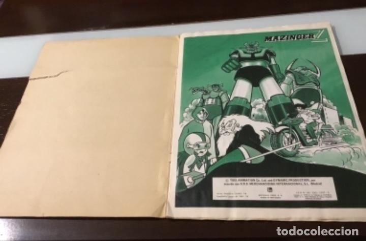 Coleccionismo Álbum: Álbum Mazinger z completo - Foto 3 - 167607700