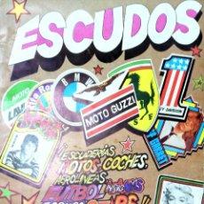 Coleccionismo Álbum: ÁLBUM COMPLETO ESCUDOS. EDITORIAL DIFUSORA DE CULTURA. AÑO 1981. VER FOTOS.. Lote 167669752