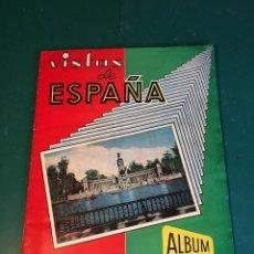 Coleccionismo Álbum: VISTAS DE ESPAÑA COMPLETO. Lote 167749104