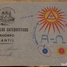 Coleccionismo Álbum: ALBUM SELLOS CATEQUISTICOS DE AHORRO INFANTIL CAJA DE AHORROS PROVINCIAL SEVILLA GRAFICAS LERCHUNDI. Lote 167979628