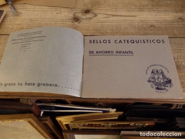 Coleccionismo Álbum: ALBUM SELLOS CATEQUISTICOS DE AHORRO INFANTIL CAJA DE AHORROS PROVINCIAL SEVILLA GRAFICAS LERCHUNDI - Foto 2 - 167979628