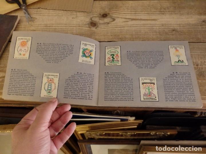 Coleccionismo Álbum: ALBUM SELLOS CATEQUISTICOS DE AHORRO INFANTIL CAJA DE AHORROS PROVINCIAL SEVILLA GRAFICAS LERCHUNDI - Foto 5 - 167979628