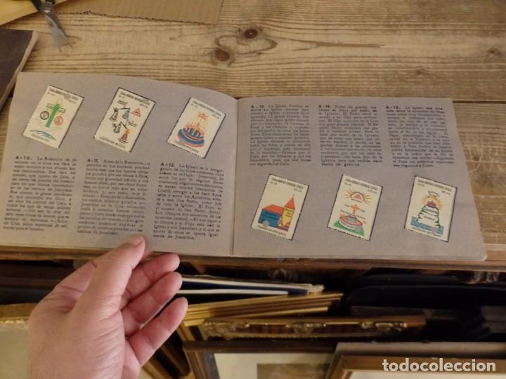 Coleccionismo Álbum: ALBUM SELLOS CATEQUISTICOS DE AHORRO INFANTIL CAJA DE AHORROS PROVINCIAL SEVILLA GRAFICAS LERCHUNDI - Foto 6 - 167979628