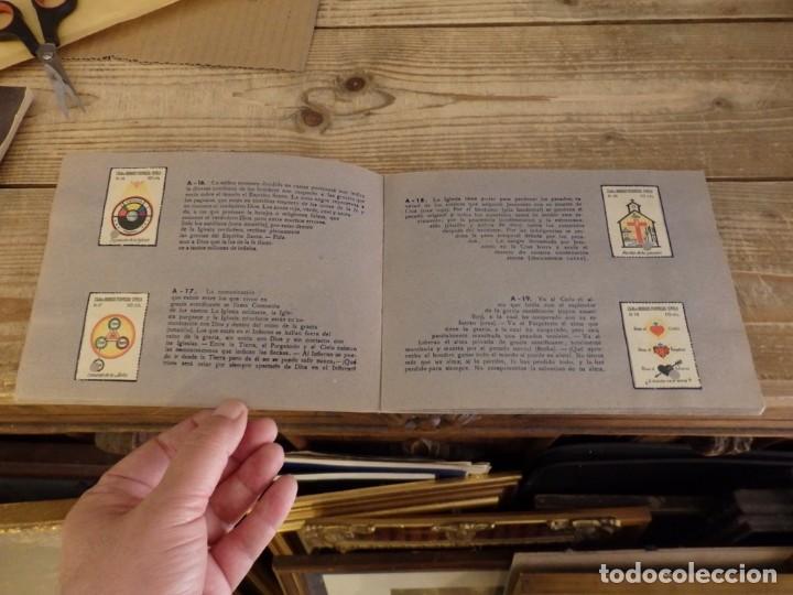 Coleccionismo Álbum: ALBUM SELLOS CATEQUISTICOS DE AHORRO INFANTIL CAJA DE AHORROS PROVINCIAL SEVILLA GRAFICAS LERCHUNDI - Foto 7 - 167979628