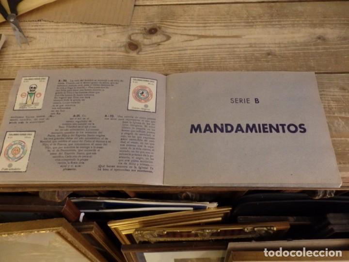 Coleccionismo Álbum: ALBUM SELLOS CATEQUISTICOS DE AHORRO INFANTIL CAJA DE AHORROS PROVINCIAL SEVILLA GRAFICAS LERCHUNDI - Foto 8 - 167979628