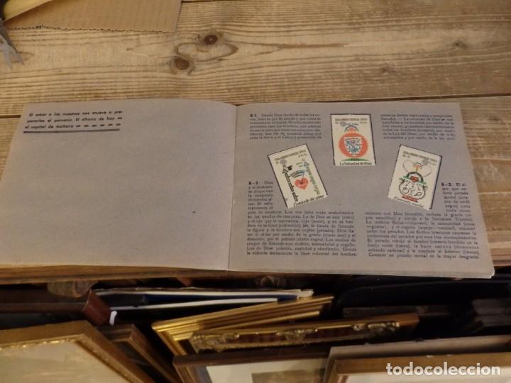 Coleccionismo Álbum: ALBUM SELLOS CATEQUISTICOS DE AHORRO INFANTIL CAJA DE AHORROS PROVINCIAL SEVILLA GRAFICAS LERCHUNDI - Foto 9 - 167979628