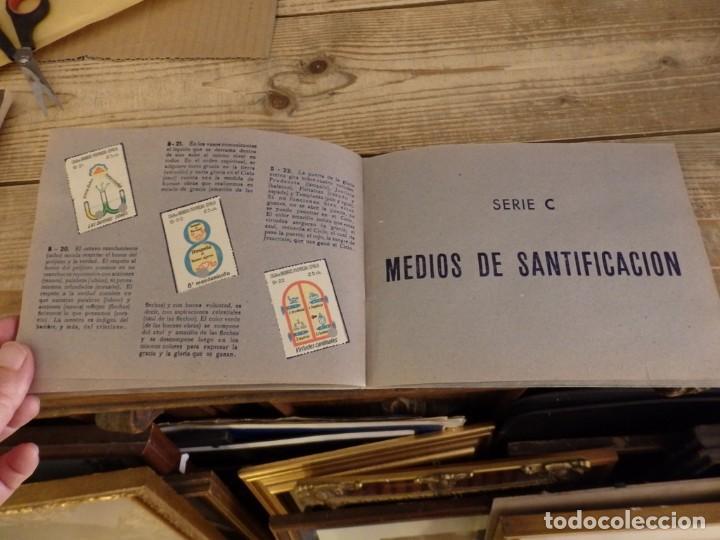 Coleccionismo Álbum: ALBUM SELLOS CATEQUISTICOS DE AHORRO INFANTIL CAJA DE AHORROS PROVINCIAL SEVILLA GRAFICAS LERCHUNDI - Foto 13 - 167979628