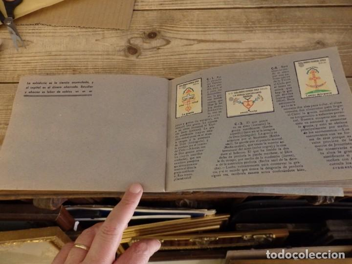Coleccionismo Álbum: ALBUM SELLOS CATEQUISTICOS DE AHORRO INFANTIL CAJA DE AHORROS PROVINCIAL SEVILLA GRAFICAS LERCHUNDI - Foto 14 - 167979628