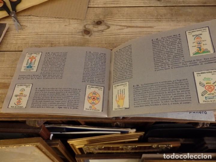 Coleccionismo Álbum: ALBUM SELLOS CATEQUISTICOS DE AHORRO INFANTIL CAJA DE AHORROS PROVINCIAL SEVILLA GRAFICAS LERCHUNDI - Foto 16 - 167979628