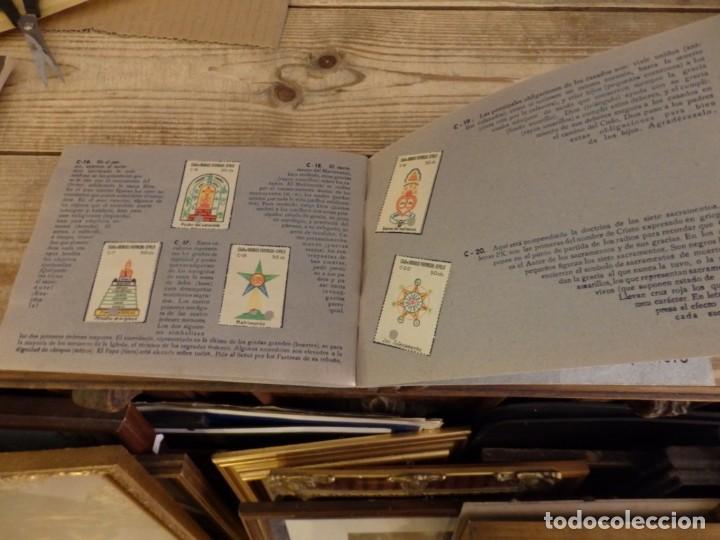Coleccionismo Álbum: ALBUM SELLOS CATEQUISTICOS DE AHORRO INFANTIL CAJA DE AHORROS PROVINCIAL SEVILLA GRAFICAS LERCHUNDI - Foto 17 - 167979628