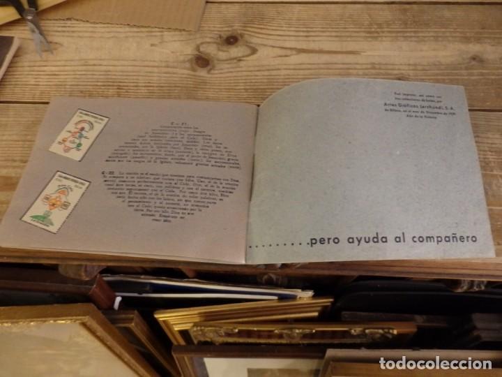 Coleccionismo Álbum: ALBUM SELLOS CATEQUISTICOS DE AHORRO INFANTIL CAJA DE AHORROS PROVINCIAL SEVILLA GRAFICAS LERCHUNDI - Foto 18 - 167979628