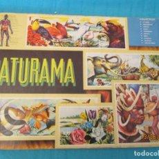 Coleccionismo Álbum: NATURAMA VESION MEXICANA DE VIDA Y COLOR. Lote 168029680