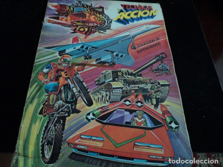 TECNICA Y ACCIÓN, 1980, ÁLBUM COMPLETO, EDICIONES ESTE (Coleccionismo - Cromos y Álbumes - Álbumes Completos)
