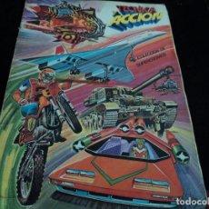 Coleccionismo Álbum: TECNICA Y ACCIÓN, 1980, ÁLBUM COMPLETO, EDICIONES ESTE. Lote 168038816