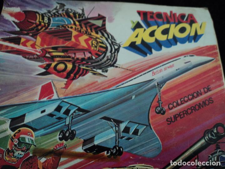 Coleccionismo Álbum: TECNICA Y ACCIÓN, 1980, ÁLBUM COMPLETO, EDICIONES ESTE - Foto 2 - 168038816