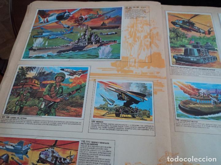 Coleccionismo Álbum: TECNICA Y ACCIÓN, 1980, ÁLBUM COMPLETO, EDICIONES ESTE - Foto 5 - 168038816