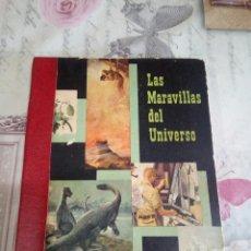Coleccionismo Álbum: ÁLBUM COMPLETO LAS MARAVILLAS DEL UNIVERSO/NESTLE. Lote 168103097