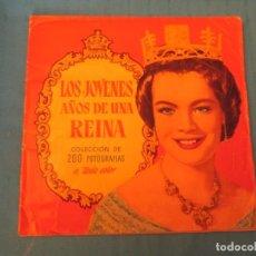 Coleccionismo Álbum: LOS JOVENES AÑOS DE UNA REINA . Lote 168135624