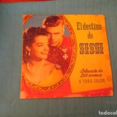 Coleccionismo Álbum: EL DESTINO DE SISSI DIFICIL. Lote 168135792